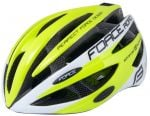 КАСКА FORCE ROAD FLUO- бяла / S-M