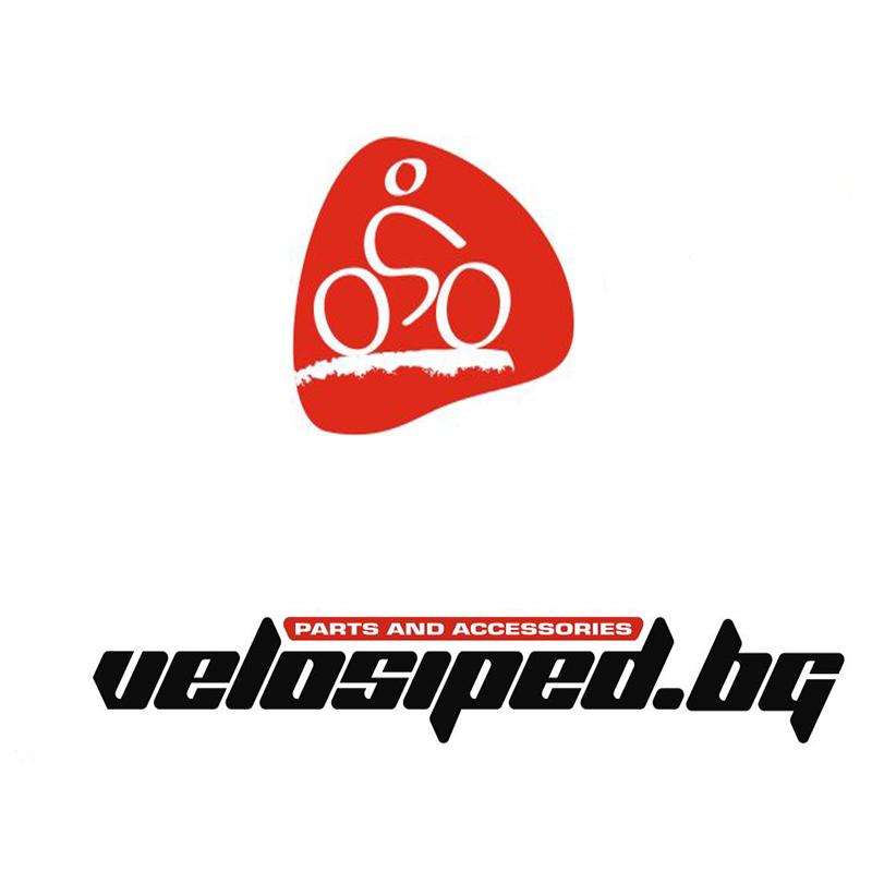 Ръкавици CROSSER RS-512 къси пръсти L черни/ червени