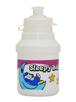 Бутилка POLISPORT SLEEPY BEAR  PVC 300мл. розова