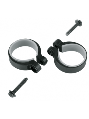 STAY MOUNTING CLAMPS 2 PCS. 34,5 - 37,5MM SKS BLACK 11484