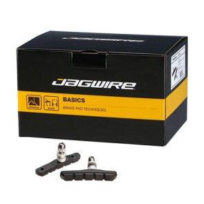 Накладки за V-brake JAGWIRE MOUNTAIN SPORT BWP5005 кутия 50бр. черни