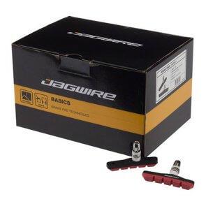 Накладки за V-brake JAGWIRE MOUNTAIN SPORT BWP5008 кутия 25бр. червени