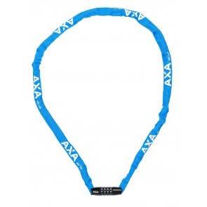 Велоключалка верига с шифър AXA RIGID RCC120 синя