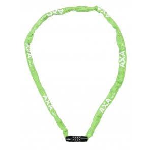 Велоключалка верига с шифър AXA RIGID RCC120 зелена