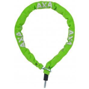 Велоключалка верига RLC-100 за ключалка AXA SOLID зелена