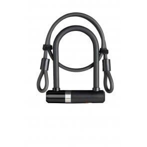 Велоключалка скоба 8мм х 100мм AXA NEWTON черна