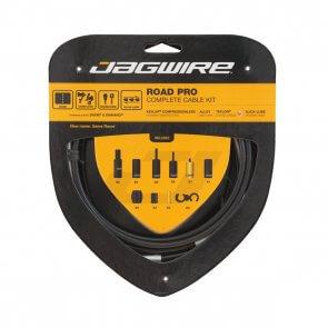 Брони, жила и накрайници за спирачки и скорости JAGWIRE ROAD PRO RCK00 черен