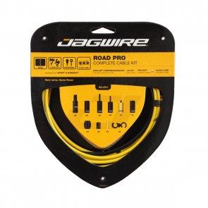 Брони, жила и накрайници за спирачки и скорости JAGWIRE ROAD PRO RCK009 жълт
