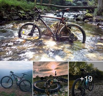 """Фото състезанието  """"Снимка с велосипед Cross"""""""