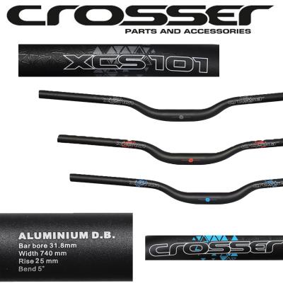 Алуминиево кормило CROSSER XCS101 HB-RB12 740мм или HB-RB11 720мм